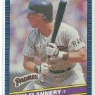 1986 Donruss Baseball Tim Flannery Padres #383