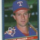 1986 Donruss Baseball Duane Walker Rangers #500