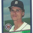 1986 Donruss Baseball Bill Scherrer Tigers #516