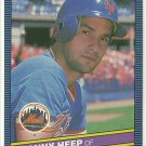 1986 Donruss Baseball Danny Heep Mets #556