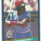 1986 Donruss Baseball Ron Washington Twins #560