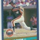 1986 Donruss Baseball Dickie Thon Astros #572