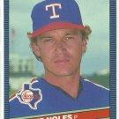 1986 Donruss Baseball Dickie Noles Rangers #587