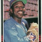 1985 Donruss Baseball Mickey Rivers Rangers #465