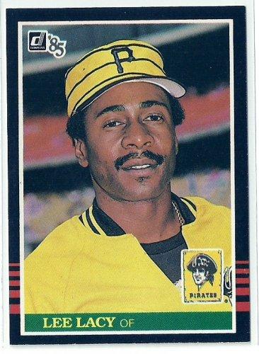 1985 Donruss Baseball Lee Lacy Pirates #508