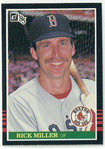 1985 Donruss Baseball Rick Miller Red Sox #517