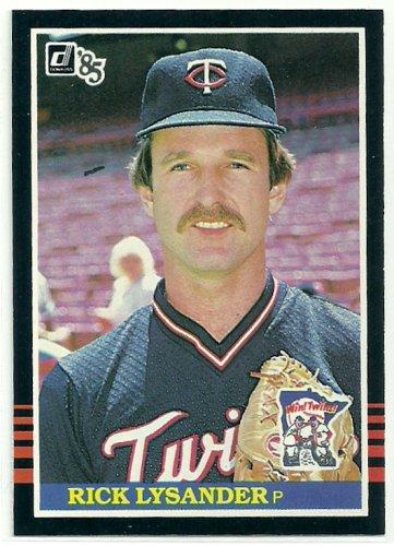 1985 Donruss Baseball Rick Lysander Twins #560
