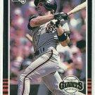 1985 Donruss Baseball Dan Gladden RC Giants #567