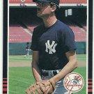 1985 Donruss Baseball Mike Armstrong Yankees #602