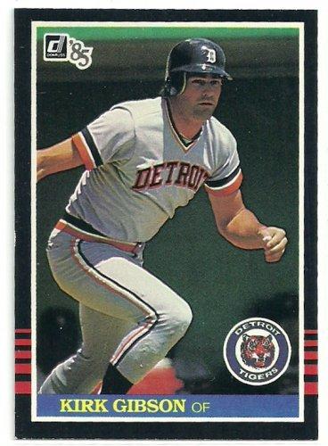 1985 Donruss Baseball Kirk Gibson Tigers #471