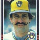 1985 Donruss Baseball Rollie Fingers Brewers #292