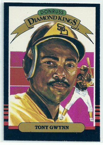 1985 Donruss Baseball Diamond King Tony Gwynn #25