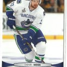 2011 Upper Deck Hockey Daniel Sedin Canucks #14
