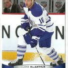 2011 Upper Deck Hockey Clarke MacArthur Maple Leafs #23