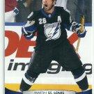 2011 Upper Deck Hockey Martin St. Louis Lightning #28