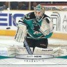 2011 Upper Deck Hockey Antti Niemi Sharks #42