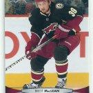 2011 Upper Deck Hockey Brett MacLean Coyotes #56
