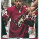 2011 Upper Deck Hockey Oliver Ekman-Larsson Coyotes #57