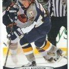 2011 Upper Deck Hockey Sergei Kostitsyn Predators #95