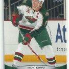 2011 Upper Deck Hockey Mikko Koivu Wild #106