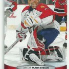 2011 Upper Deck Hockey Jacob Markstrom Panthers #122