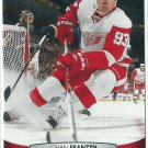 2011 Upper Deck Hockey Johan Franzen Red Wings #134