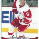 2011 Upper Deck Hockey Justin Abdelkader Red Wings #137