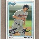 2010 Bowman Draft Ben Heath Astros #BDPP42