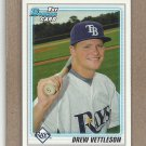 2010 Bowman Draft Drew Vettleson Rays #BDPP59