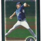 2010 Bowman Draft Chrome John Ely Dodgers #BDP17
