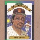 1989 Donruss Baseball DK Tony Gwynn #6