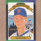 1989 Donruss Baseball DK David Cone #9