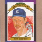 1989 Donruss Baseball DK Jeff Robinson #18