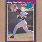1989 Donruss Baseball Gary Sheffield RC Brewers #31