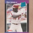 1989 Donruss Baseball Ron Jones Phillies #40