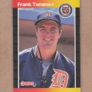 1989 Donruss Baseball Frank Tanana Tigers #90