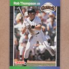 1989 Donruss Baseball Rob Thompson Giants #98