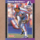 1989 Donruss Baseball Dennis Martinez Expos #106