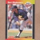 1989 Donruss Baseball Bert Blyeven Twins #119
