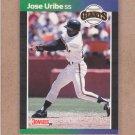 1989 Donruss Baseball Jose Uribe Giants #131