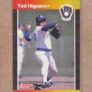 1989 Donruss Baseball Ted Higuera Brewers #175
