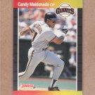 1989 Donruss Baseball Candy Maldonado Giants #177