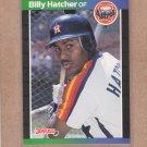 1989 Donruss Baseball Billy Hatcher Astros #187