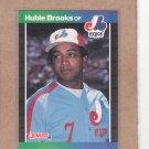 1989 Donruss Baseball Hubie Brooks Expos #220