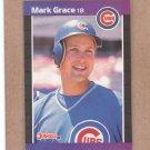 1989 Donruss Baseball Mark Grace Cubs #255