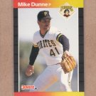 1989 Donruss Baseball Mike Dunne Pirates #269