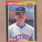1989 Donruss Baseball Walt Terrell Tigers #296