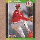 1989 Donruss Baseball Ken Dayley Cardinals #299