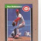 1989 Donruss Baseball Ron Robinson Reds #308