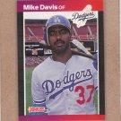 1989 Donruss Baseball Mike Davis Dodgers #316